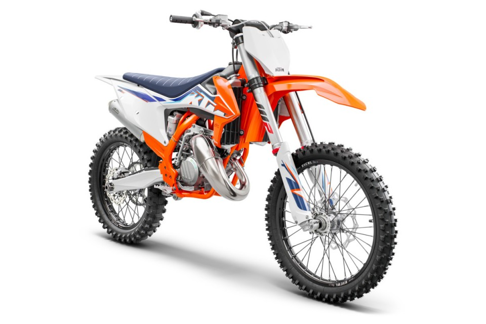 2022 KTM 150 XC-W TPI Motocyclettes - Motos Illimitées